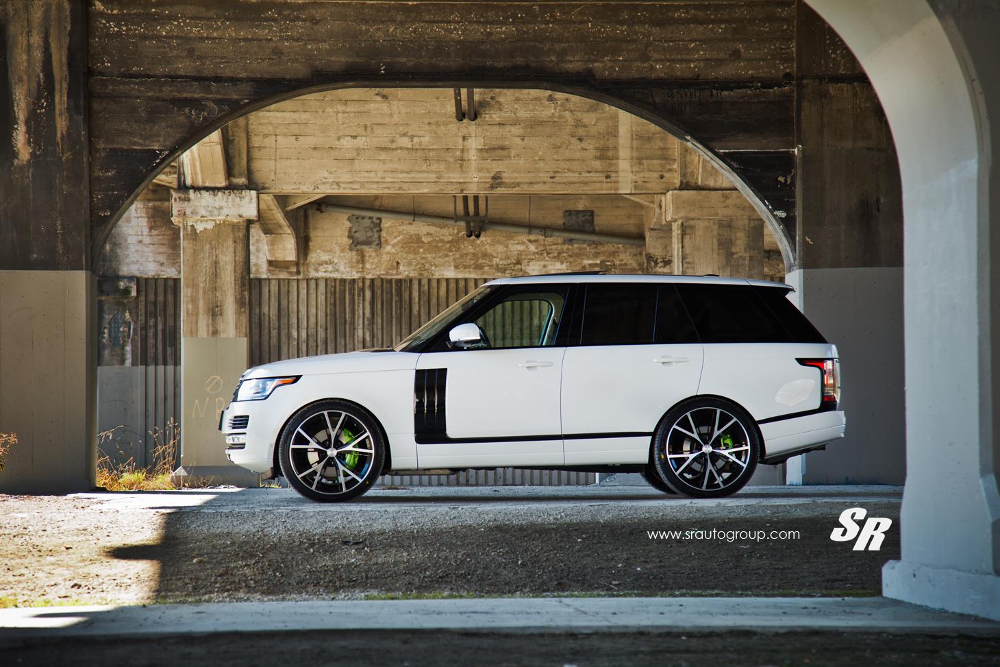 New Range Rover >> 2013 Range Rover Gets PUR Wheels, Lambo-Green Calipers - autoevolution