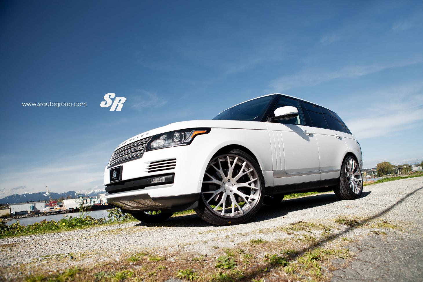 2013 Range Rover On 24 Inch Pur Wheels Autoevolution