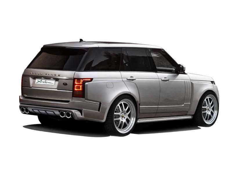 2013 range rover tuning ar9 by arden autoevolution. Black Bedroom Furniture Sets. Home Design Ideas