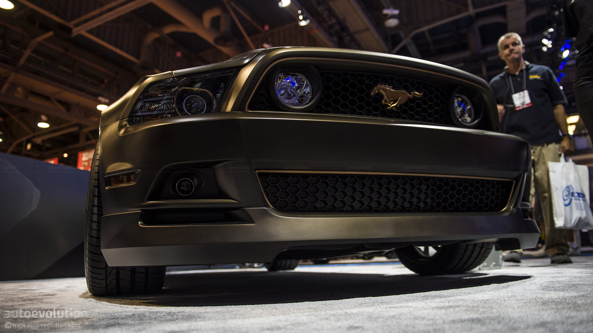 Black Ford Explorer >> 2012 SEMA: Ford Mustang Powered by Women [Live Photos] - autoevolution