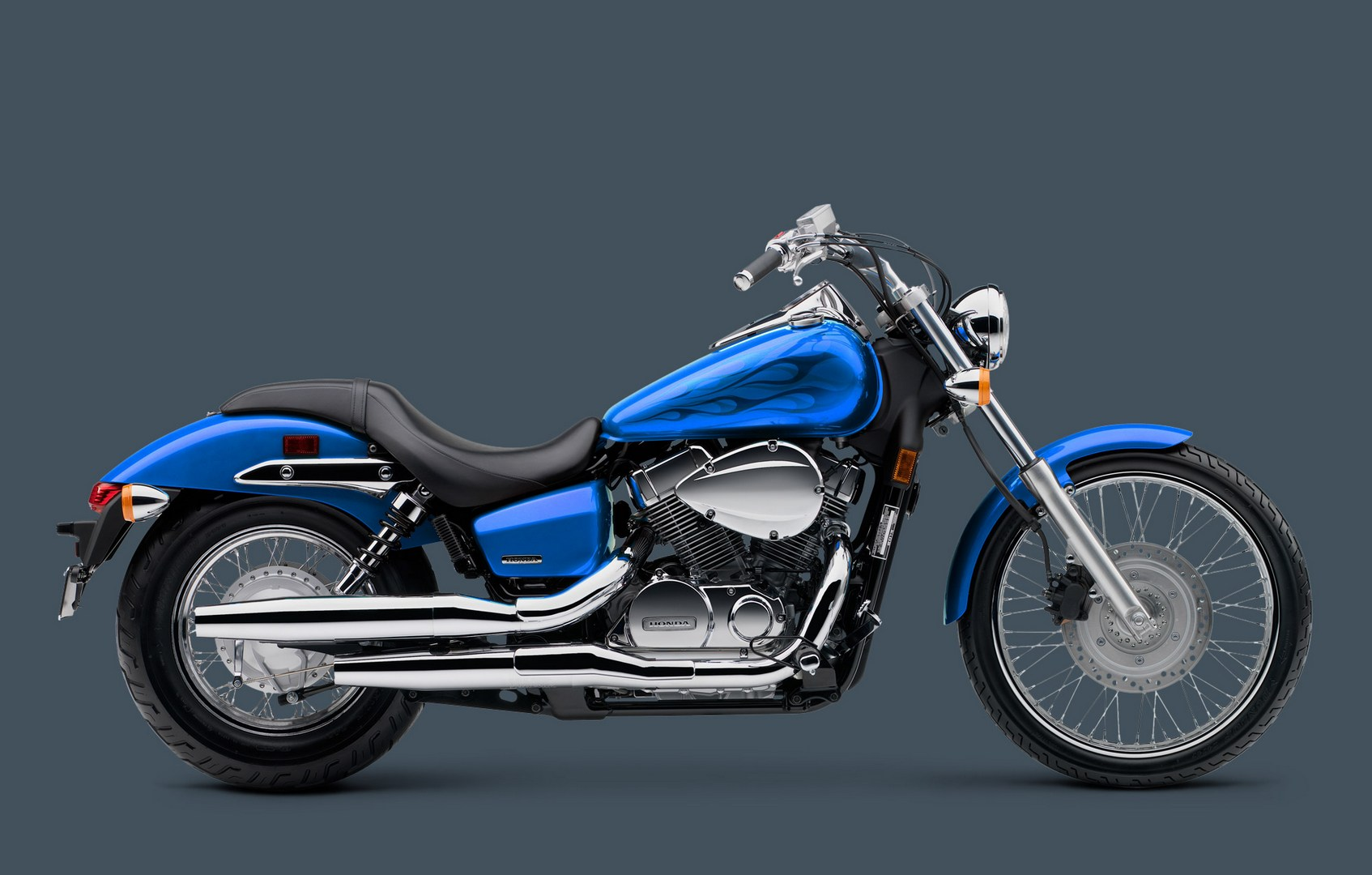 2013 Shadow Spirit 750 Honda S Classic Approach To