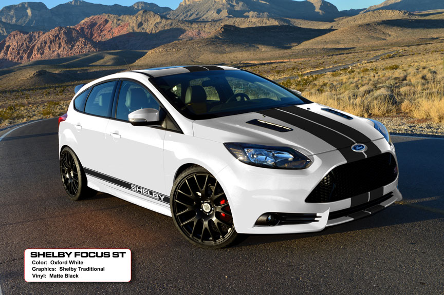 2013 shelby ford focus st revealed in detroit autoevolution