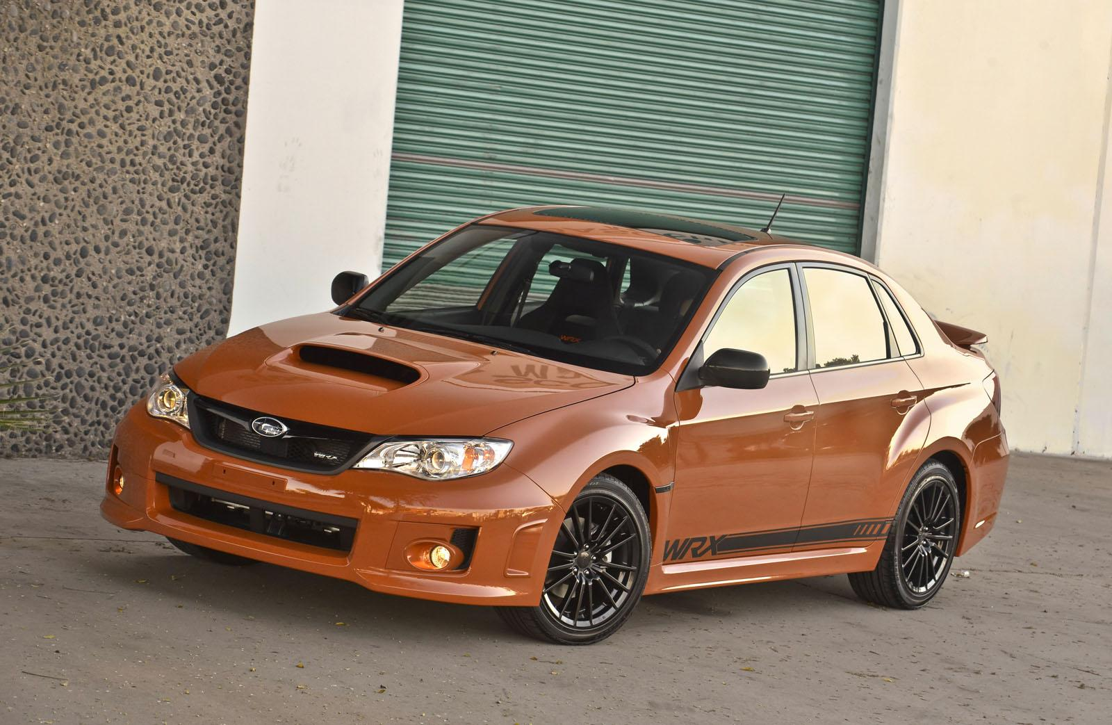 2013 subaru wrx and wrx sti special editions unveiled. Black Bedroom Furniture Sets. Home Design Ideas