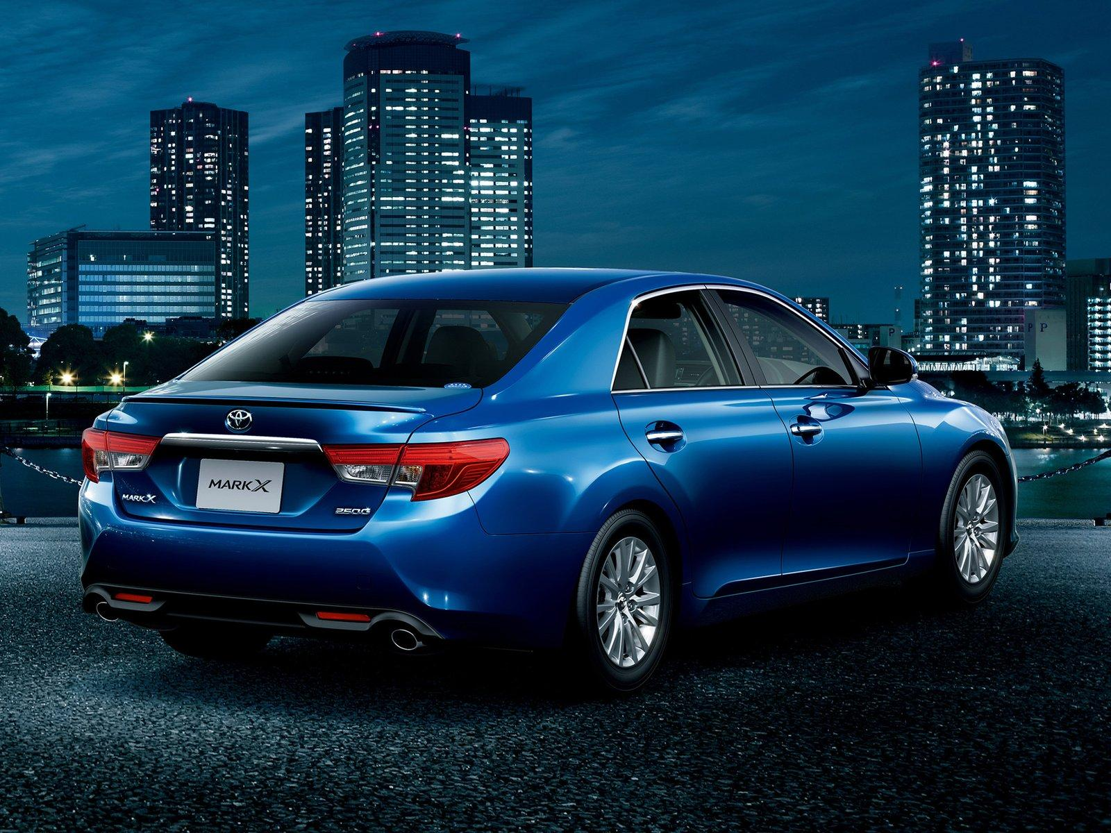 Toyota Tacoma Diesel >> 2013 Toyota Mark X Facelift - Japan-Only - autoevolution