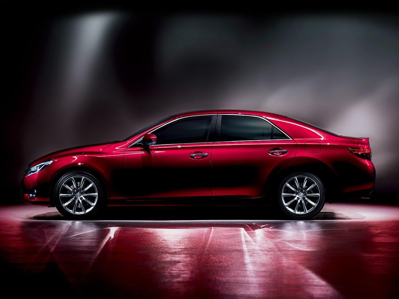 2013 Toyota Mark X Facelift Japan Only Autoevolution