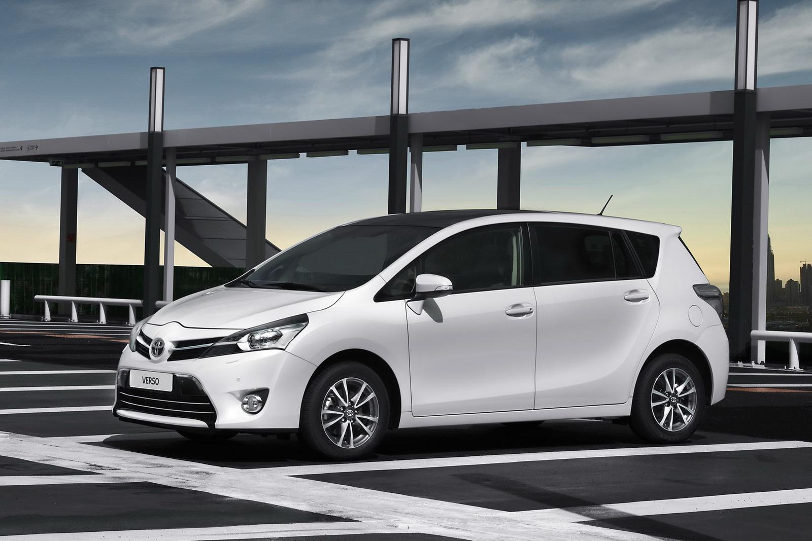 Corolla S 2017 >> 2013 Toyota Verso MPV Gets a Facelift - autoevolution