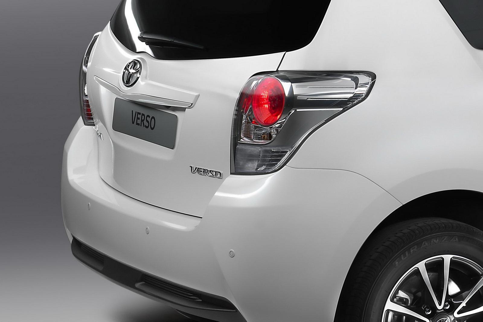 2013 Toyota Verso Mpv Gets A Facelift Autoevolution