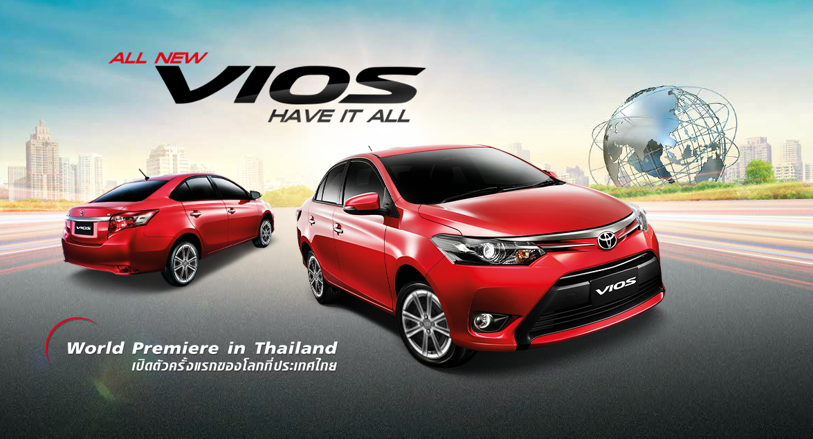 2013 Toyota Vios Officially Unveiled in Thailand [Video ...