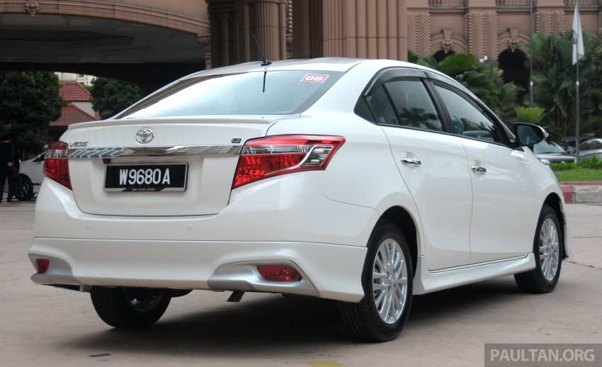 Toyota Vios Tested In Malaysia Photo Gallery