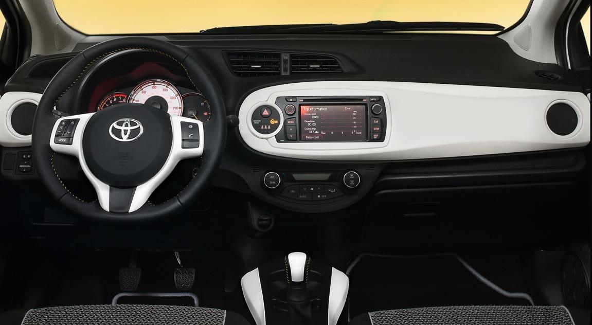 2013 toyota yaris updates for uk market   autoevolution
