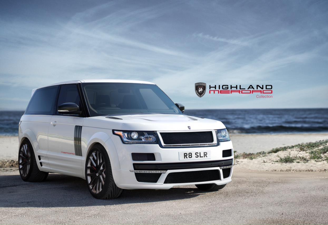 2013 Range Rover Becomes Two Door Gtc By Merdad