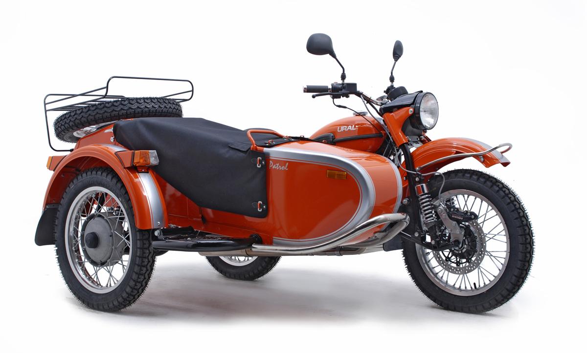 2013 ural patrol for the vintage sidecar lovers. Black Bedroom Furniture Sets. Home Design Ideas