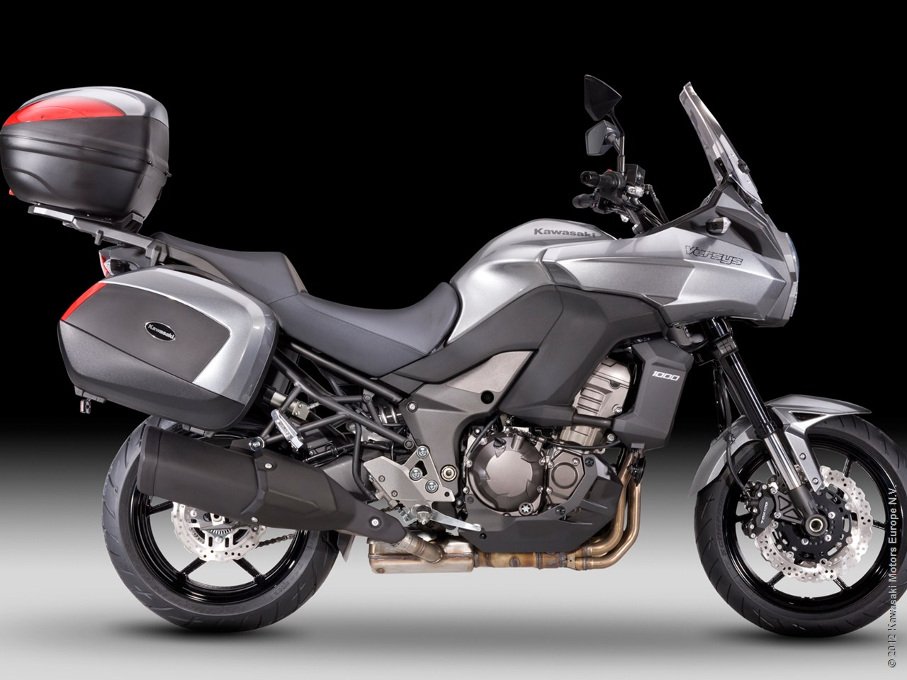 2013 Kawasaki Versys 1000 Grand Tourer Shows Nifty Accessories ...