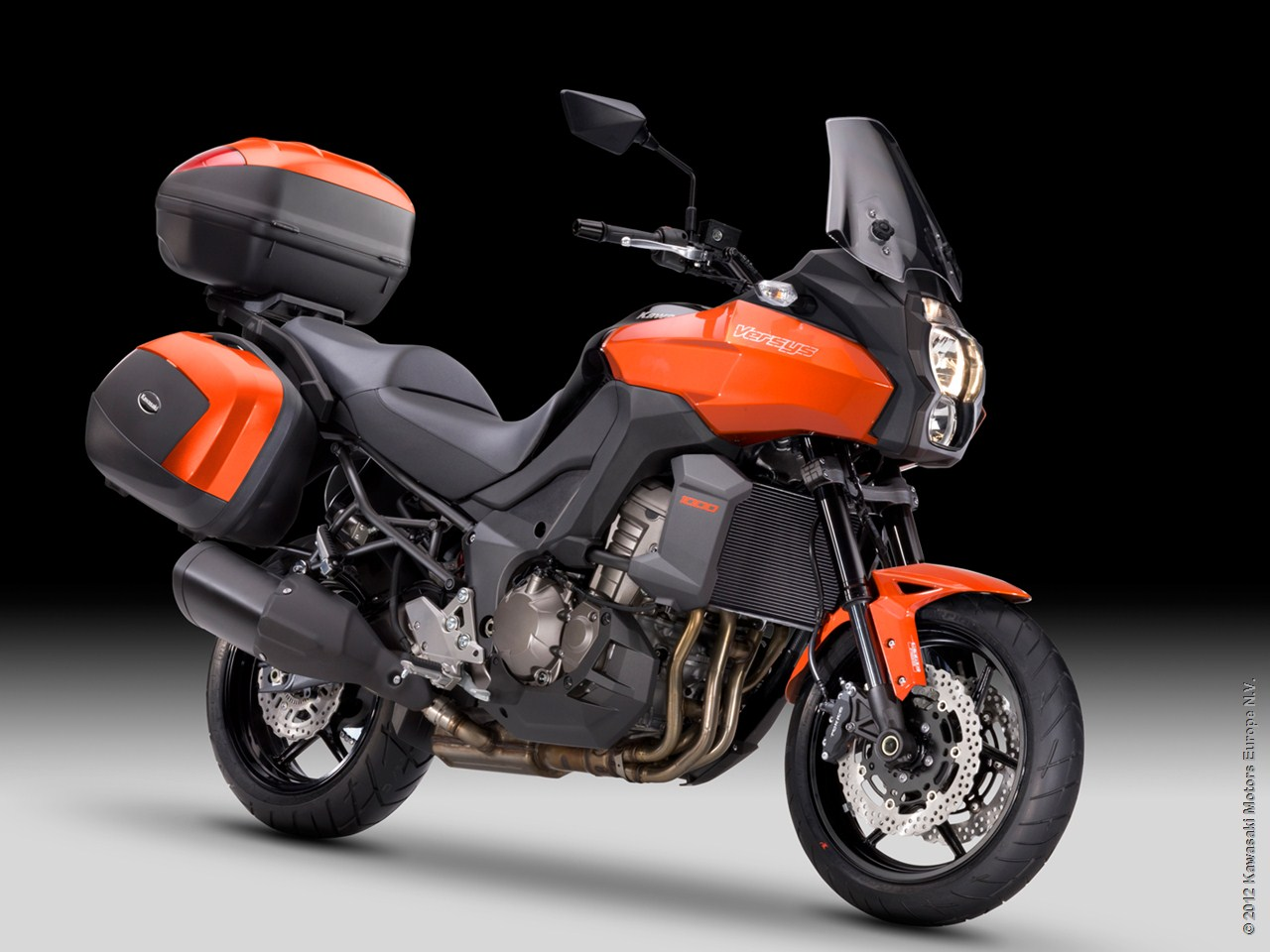 2013 Kawasaki Versys 1000 Grand Tourer Shows Nifty