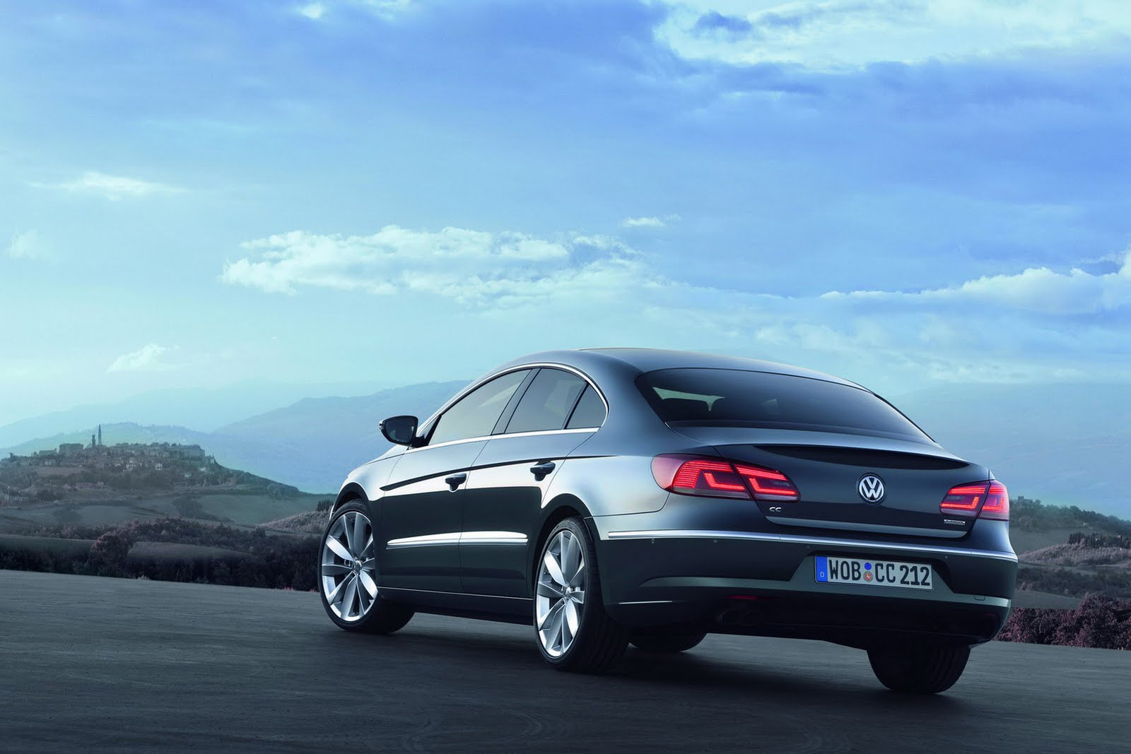 2013 volkswagen passat cc facelift unveiled autoevolution. Black Bedroom Furniture Sets. Home Design Ideas