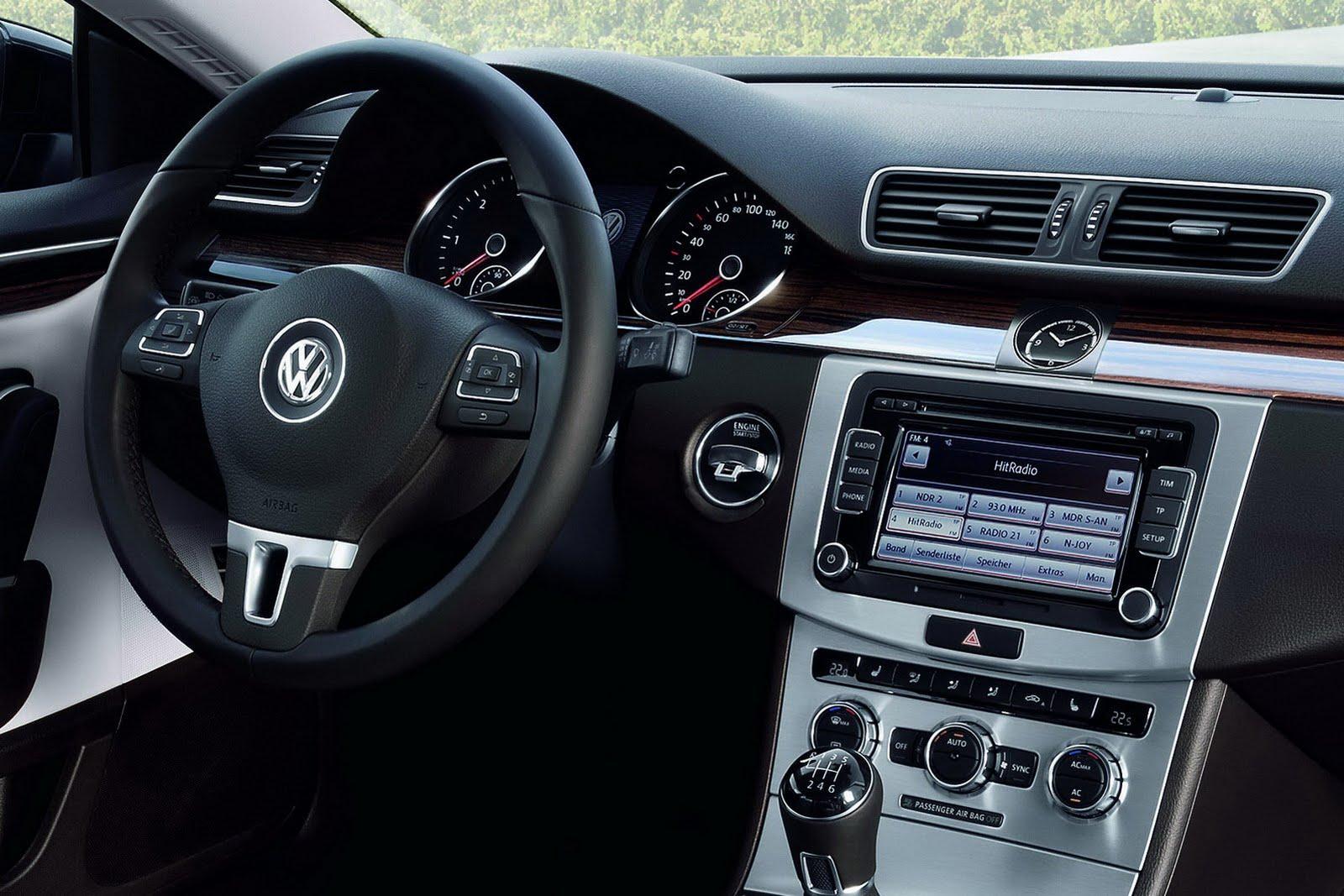 2013 volkswagen passat cc facelift unveiled autoevolution. Black Bedroom Furniture Sets. Home Design Ideas