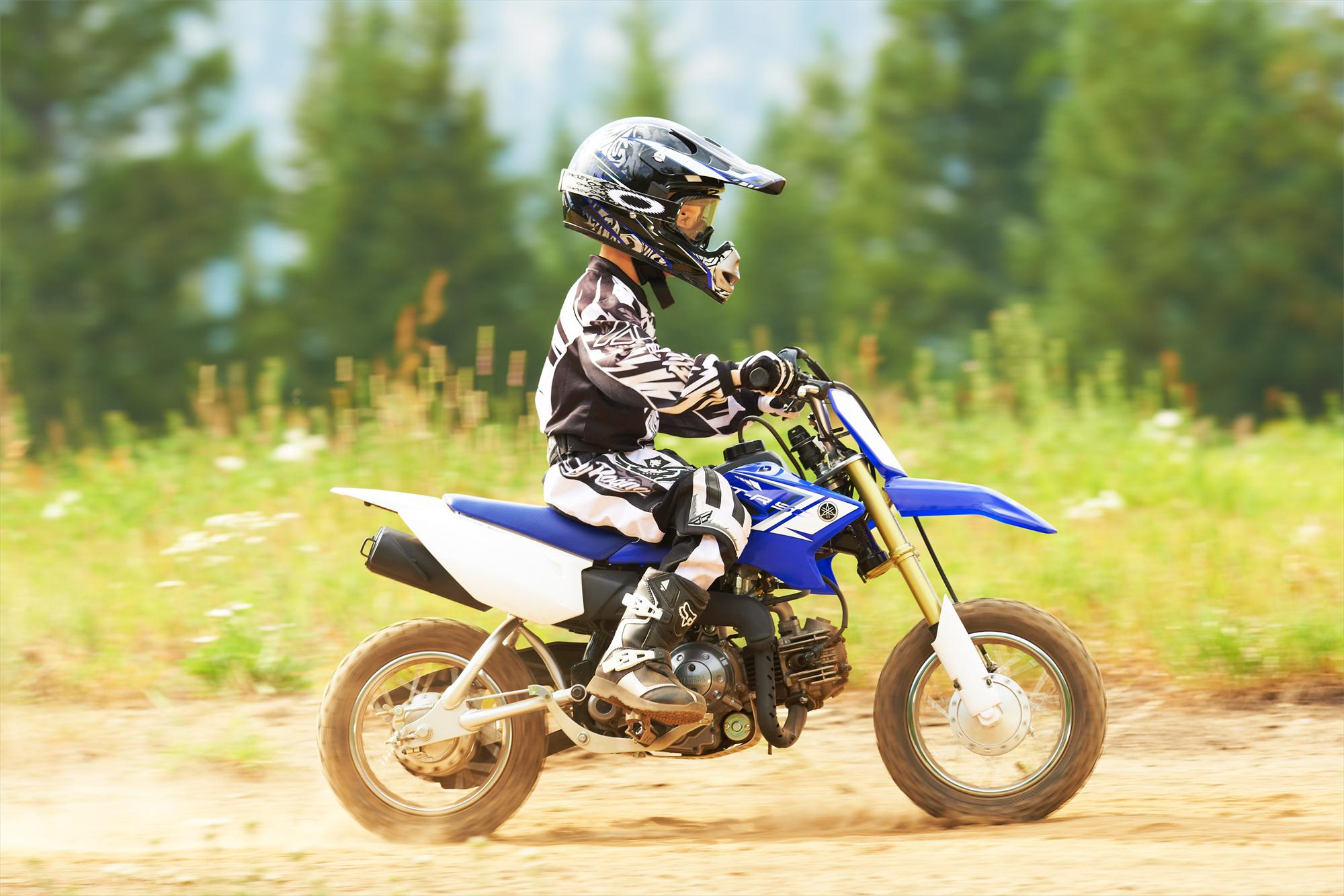 2013 Yamaha PW50, the Small Bike for Young Champs