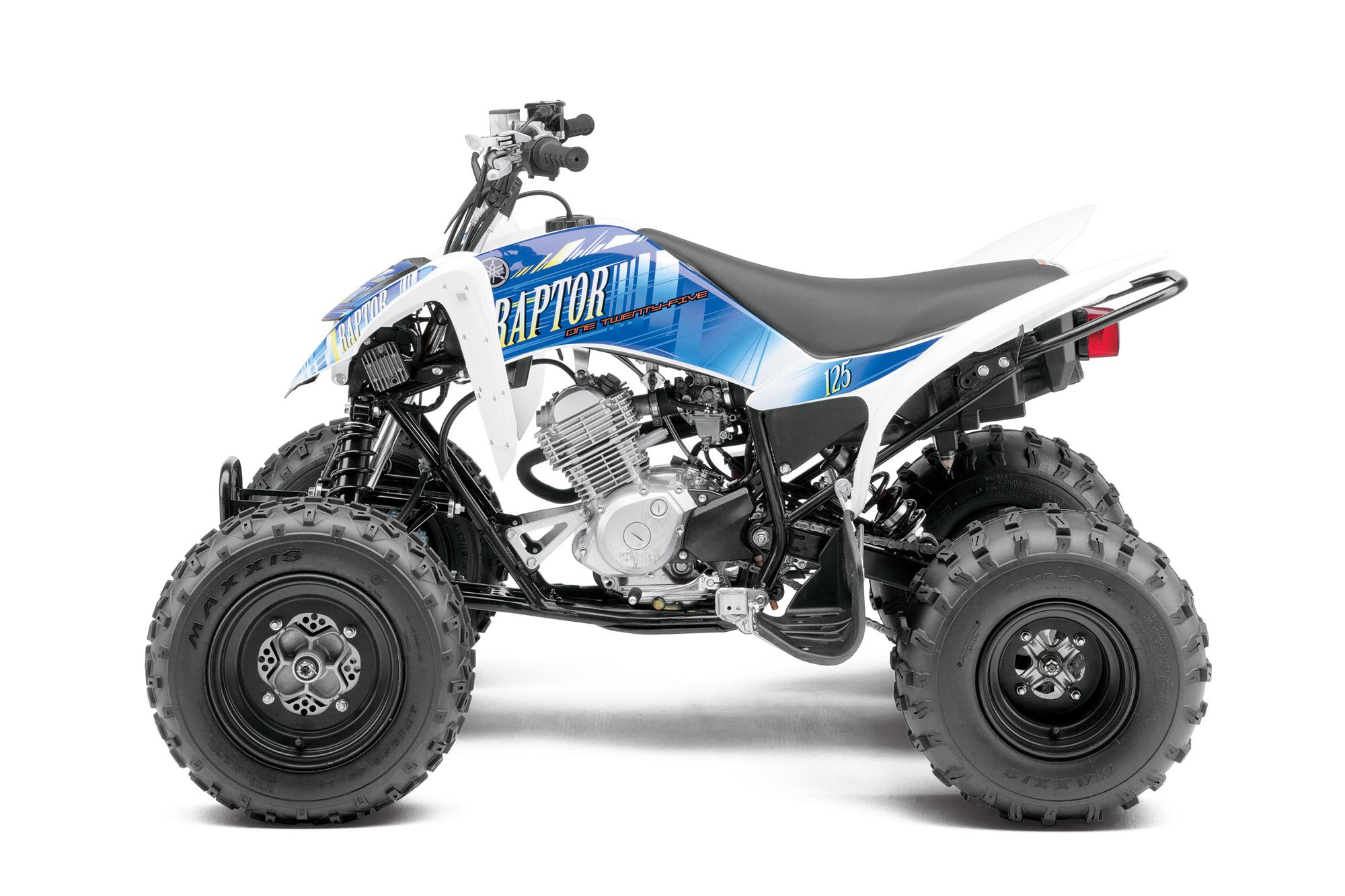 2013 yamaha raptor 125 the entry level sport atv autoevolution