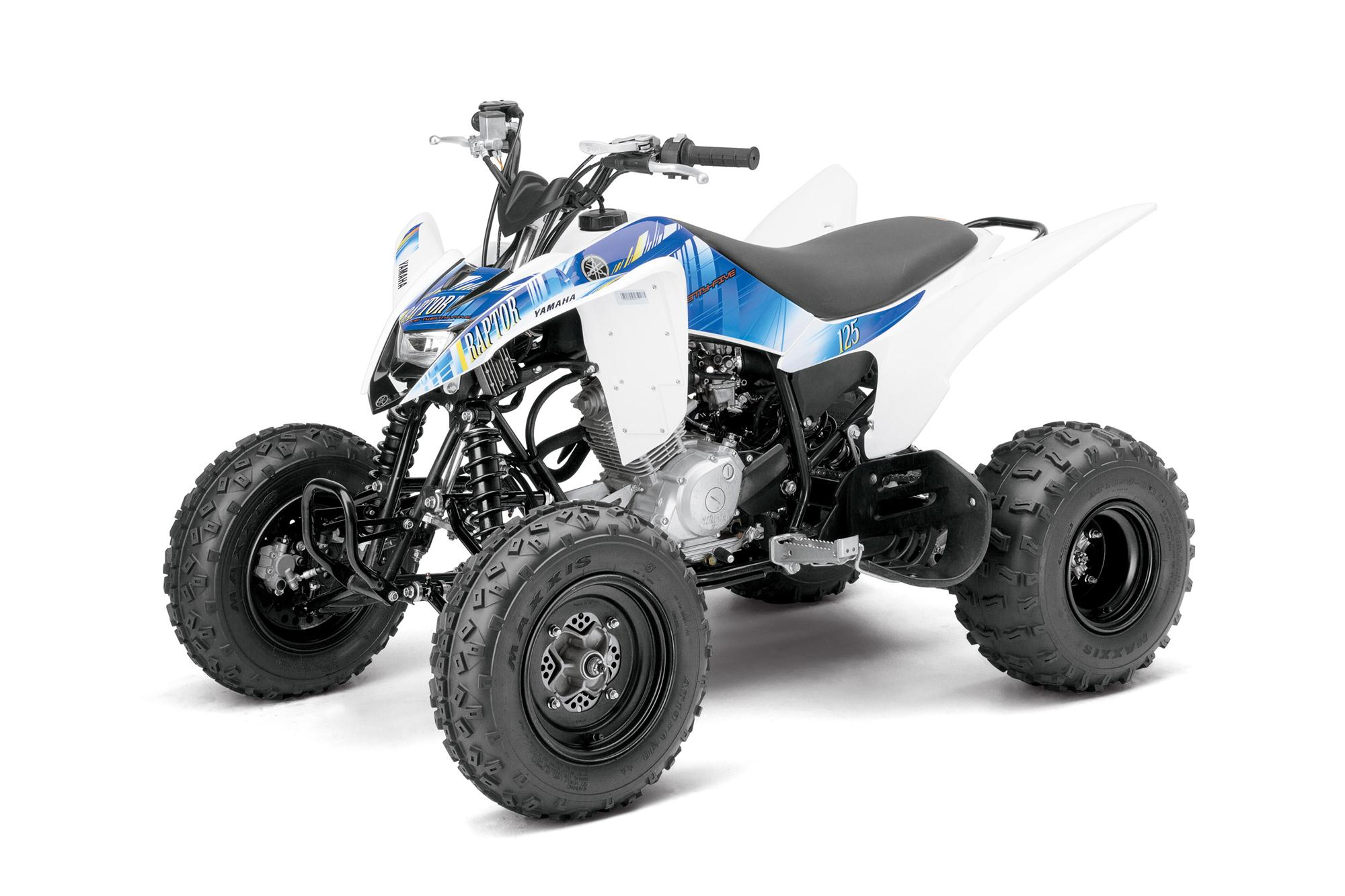2013 yamaha raptor 125 the entry level sport atv. Black Bedroom Furniture Sets. Home Design Ideas