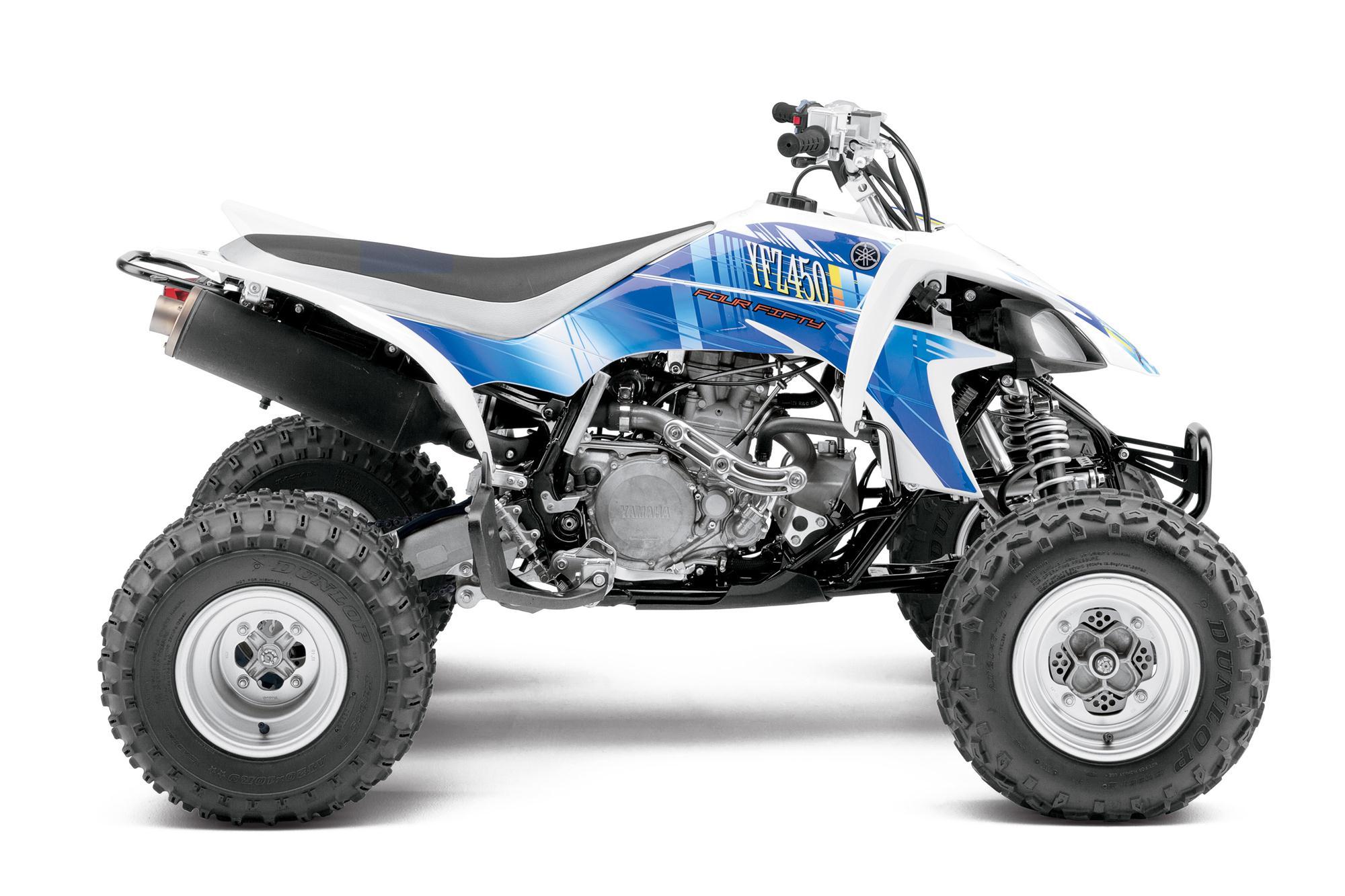 2013 Yamaha Yfz450  The Atv Motocross Standard