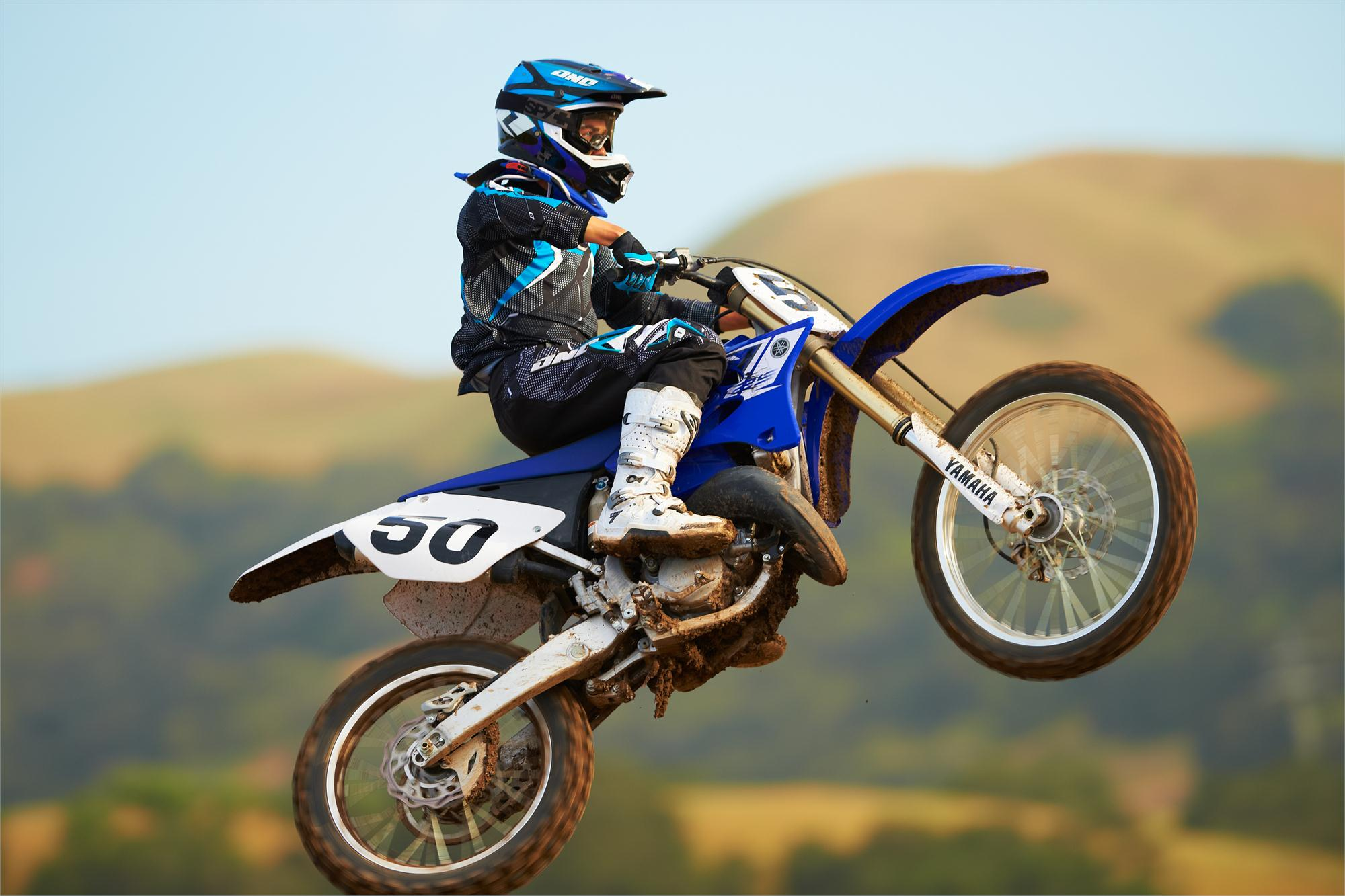 Yamaha   Stroke Dirt Bike
