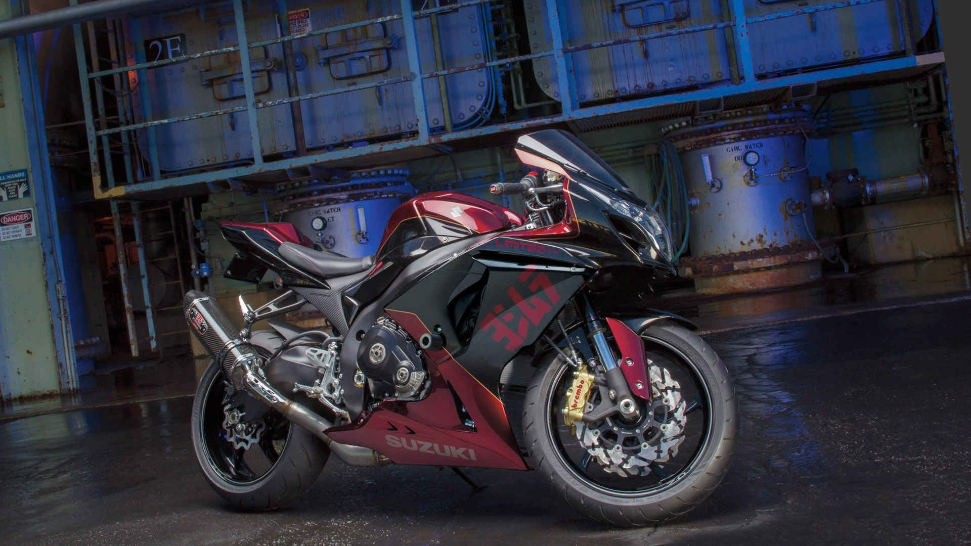 Yamaha Electric Motorcycle >> 2013 Yoshimura Limited Edition Suzuki GSX-R [Video ...