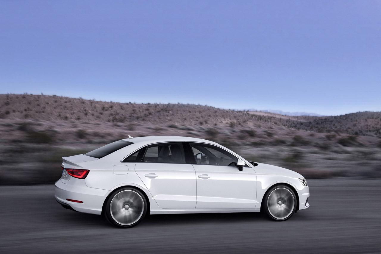 Audi A3 Dimensions >> 2014 Audi A3 Sedan Revealed - autoevolution