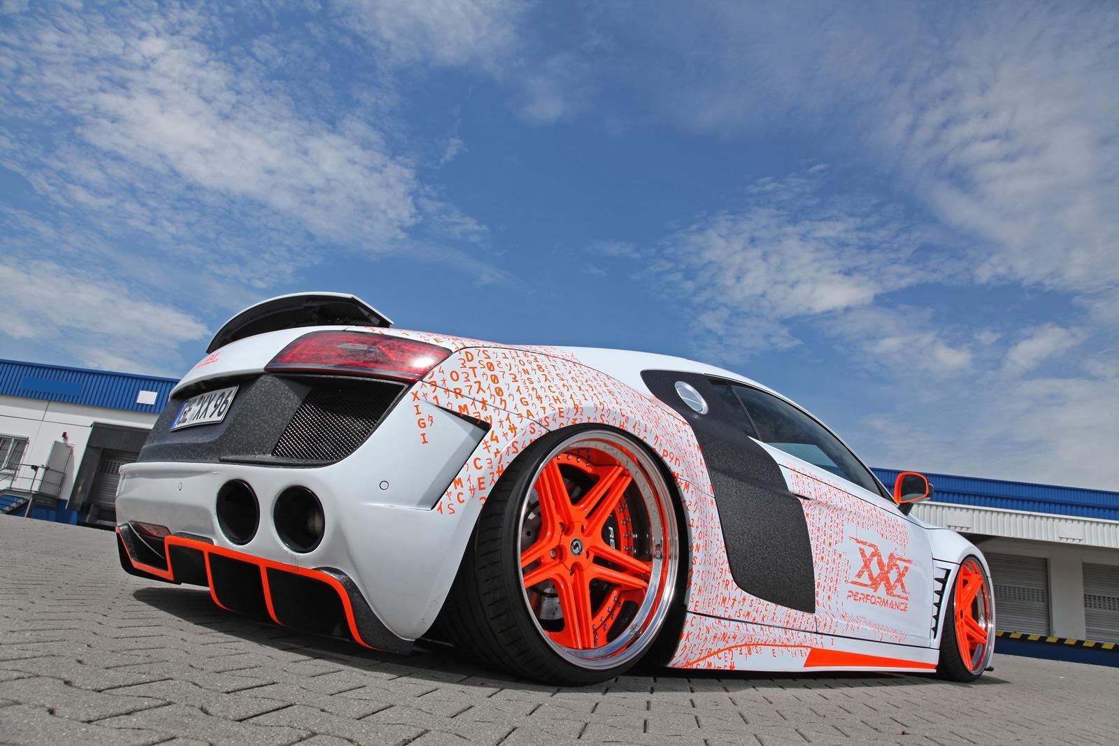 2014 Audi R8 Gets Killer Slammed Look from xXx Performance ...