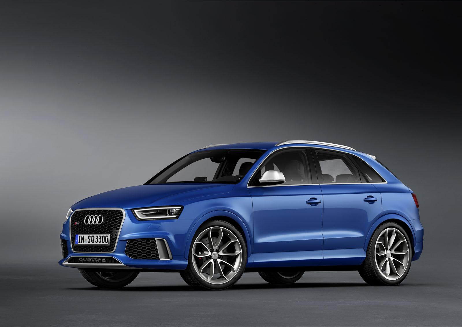 2014 audi rs q3 officially revealed autoevolution. Black Bedroom Furniture Sets. Home Design Ideas