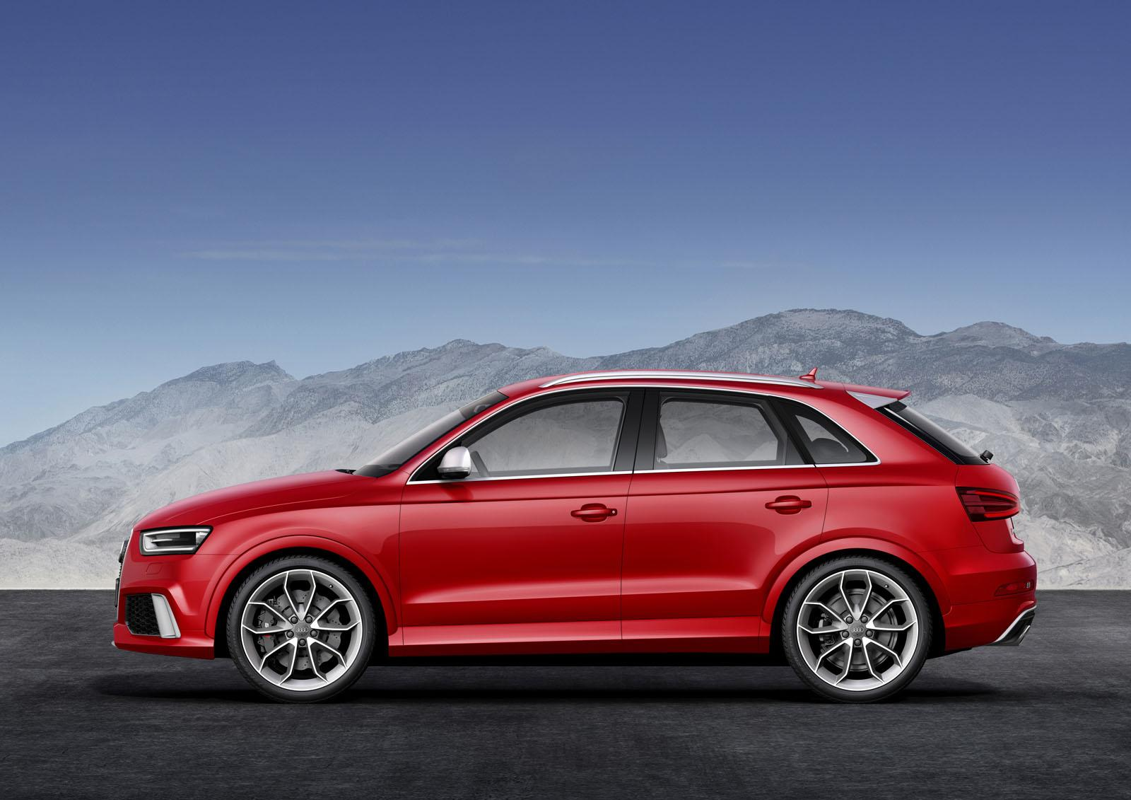 2014 Audi RS Q3 Officially Revealed - autoevolution
