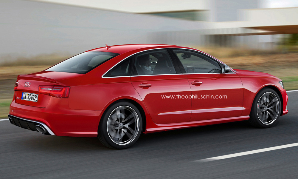 2014 audi rs6 sedan rendered. Black Bedroom Furniture Sets. Home Design Ideas