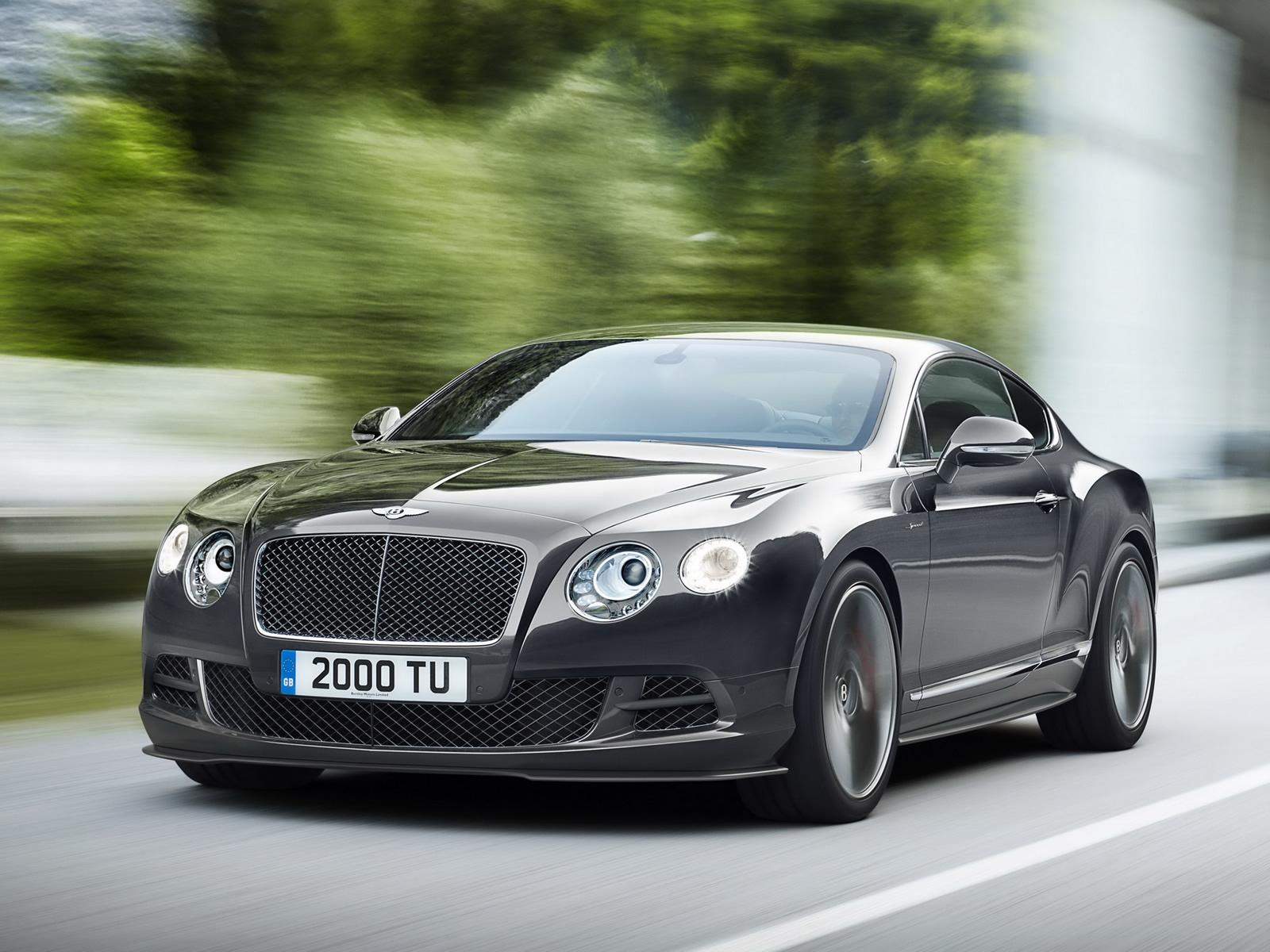 2014 Bentley Continental Gt Speed Introduced With Even More Power Autoevolution