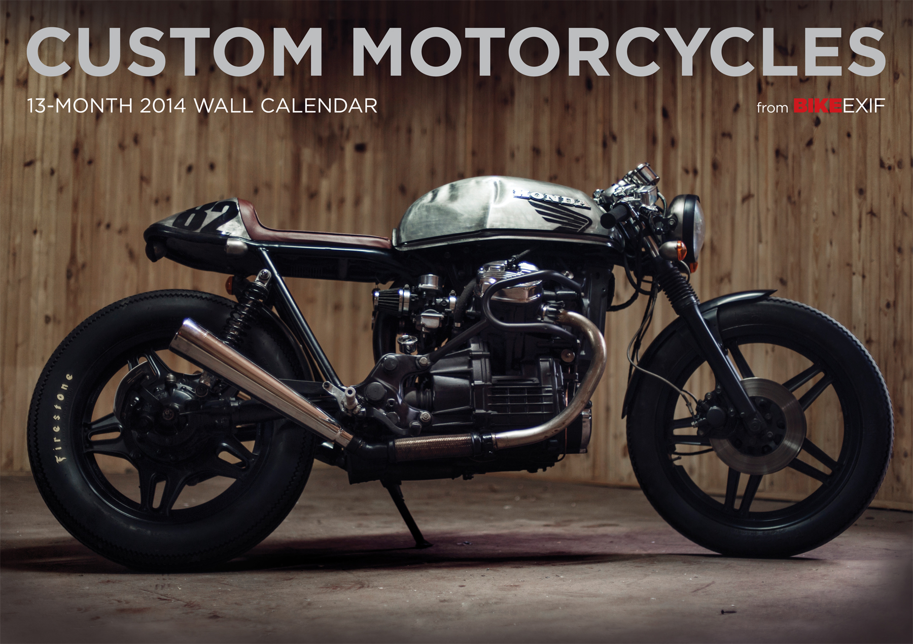 2014 Bike Exif Shows Awesome Custom Bikes Calendar