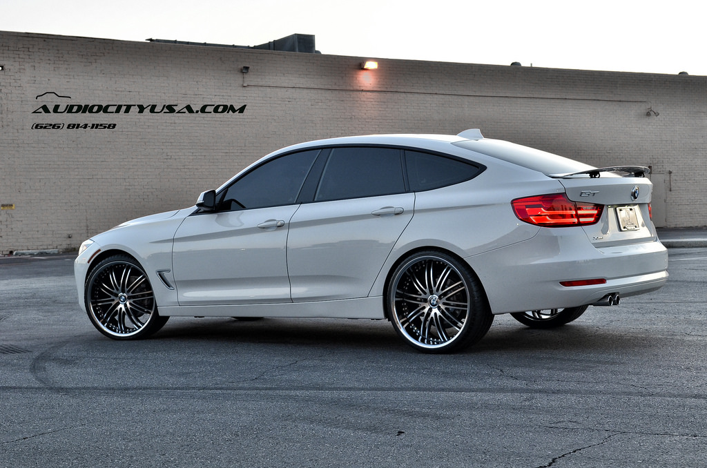 2014 BMW 3 Series GT Stands Tall on 22-Inch Wheels ...