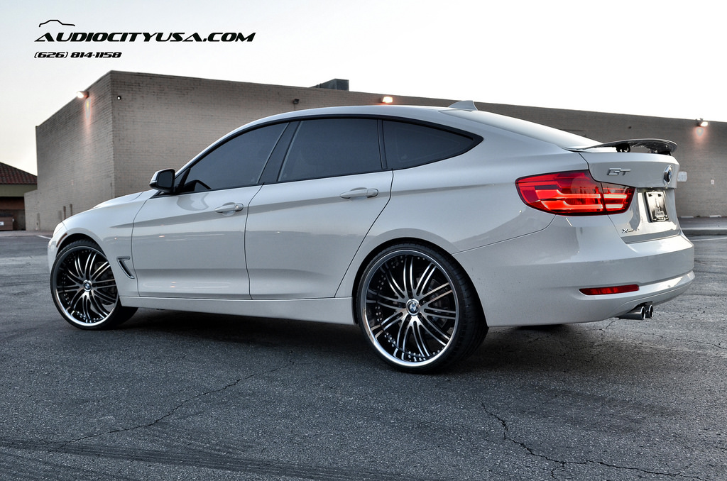 2014 Bmw 3 Series Gt Stands Tall On 22 Inch Wheels