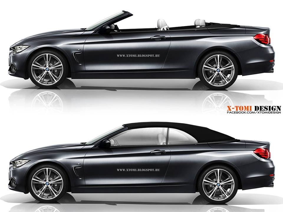 2014 Bmw 4 Series Cabrio Rendering Released Autoevolution