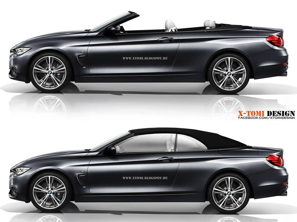 2014 bmw 4 series cabrio rendering released autoevolution