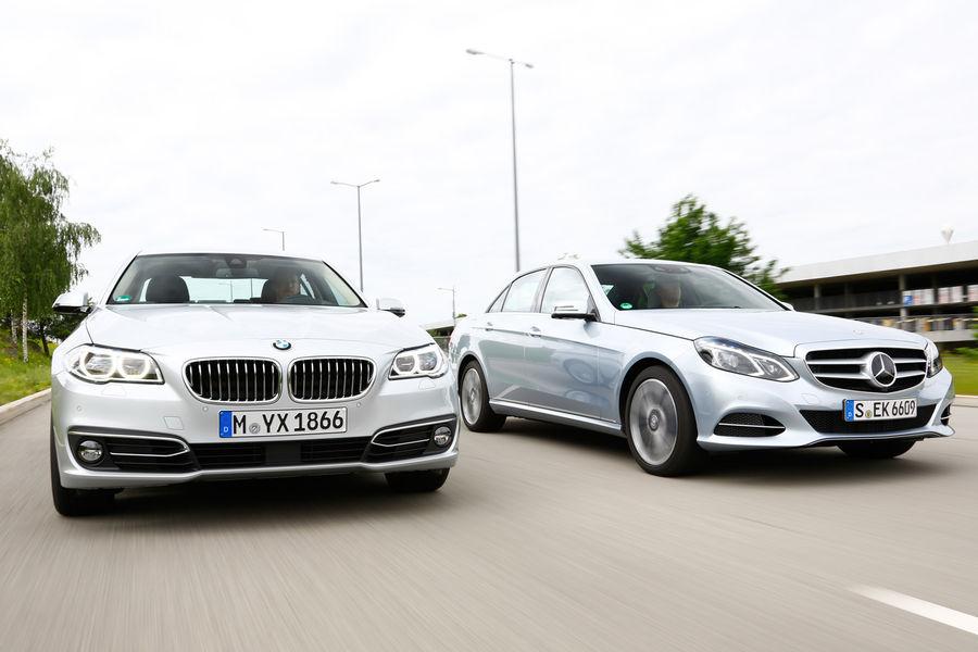 2014 BMW 530d vs Mercedes-Benz E350 Bluetec Comparison ...