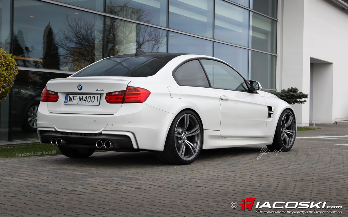 BMW F M Coupe Renderings Pics - Bmw 2014 m4