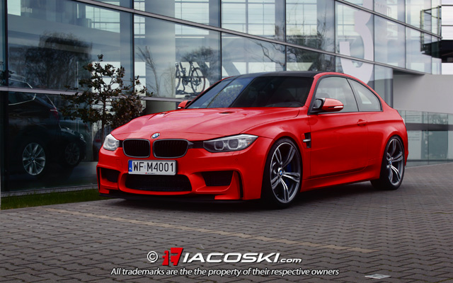 2014 Bmw F82 M4 Coupe Renderings Autoevolution