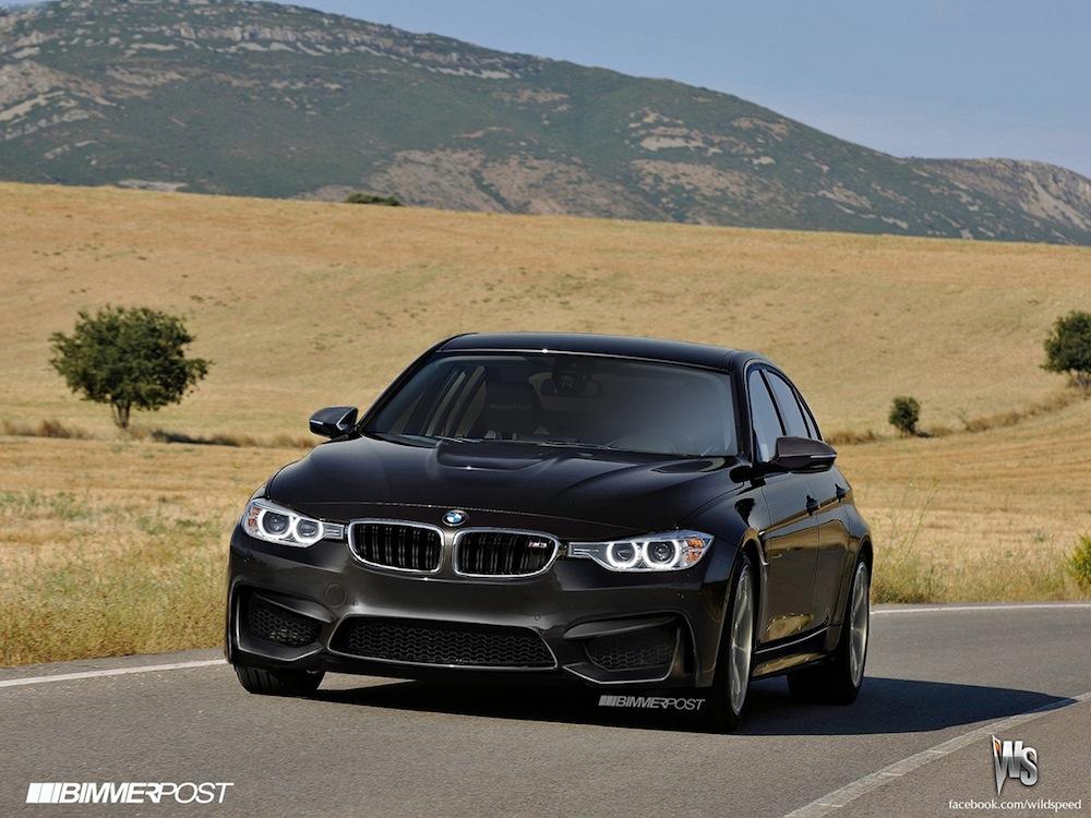 BMW M Sedan Renderings Released Autoevolution - 2014 bmw m3