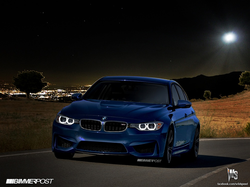 2014 bmw m3 sedan renderings released autoevolution. Black Bedroom Furniture Sets. Home Design Ideas