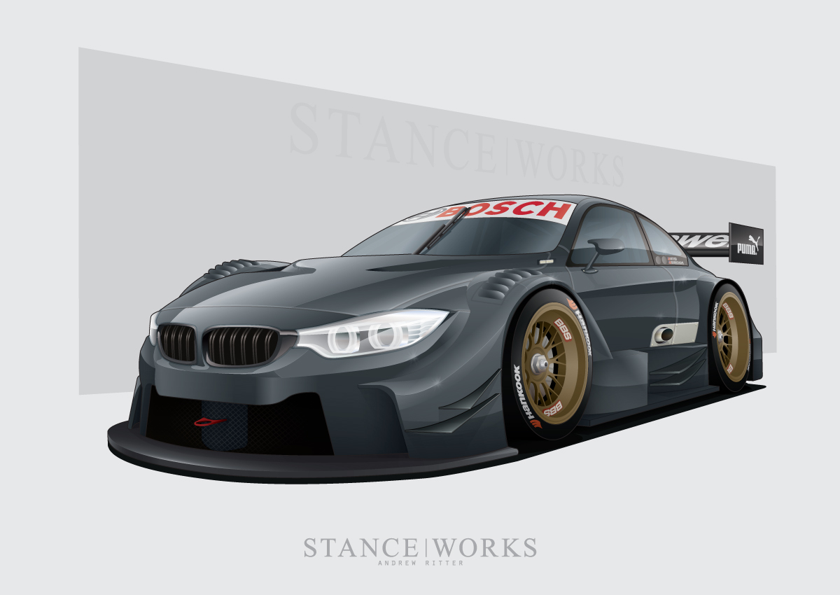 2014 Bmw M4 Dtm Renderings By Stance Works Autoevolution