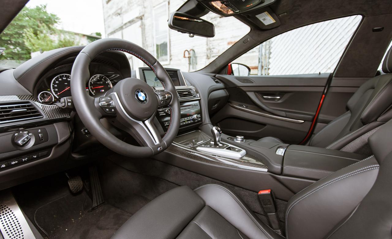 2014 bmw m6 gran coupe test drive by car and driver - Bmw m6 gran coupe interior ...