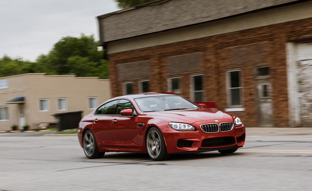 2014 bmw m6 gran coupe test drive by car and driver autoevolution. Black Bedroom Furniture Sets. Home Design Ideas