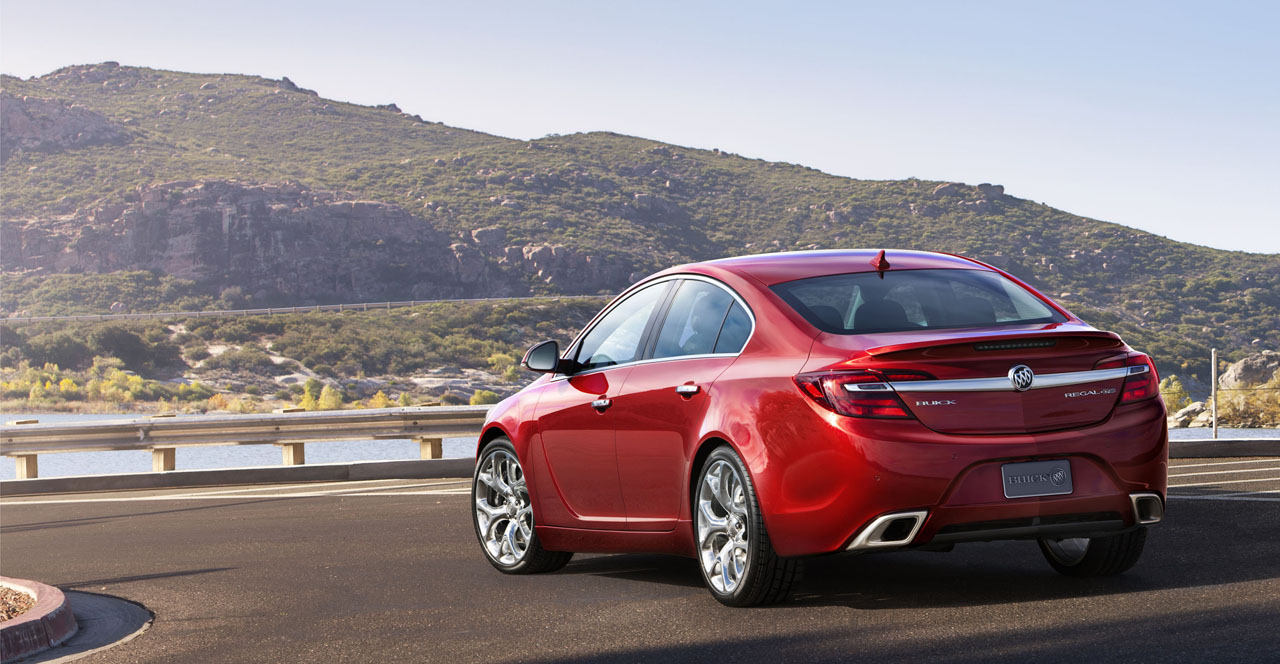 2014 Buick Regal Unveiled Ahead Of New York Debut