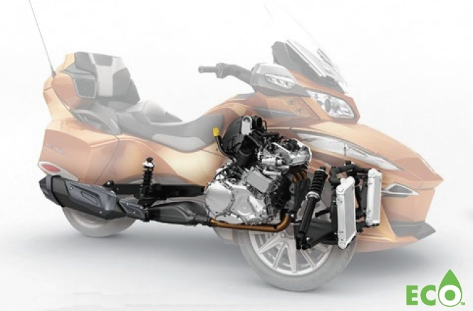 2014 can am spyder rt receives massive upgrades