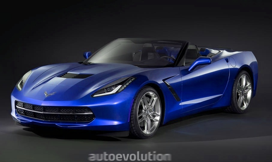 2014 Chevrolet C7 Corvette Stingray Convertible #1/4