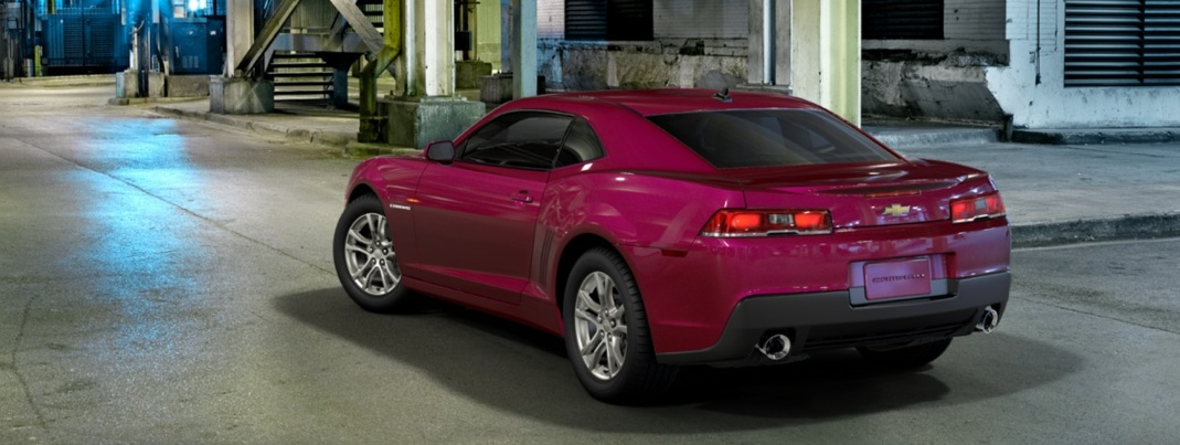 2014 Chevrolet Camaro In Deep Magenta Metallic Autoevolution