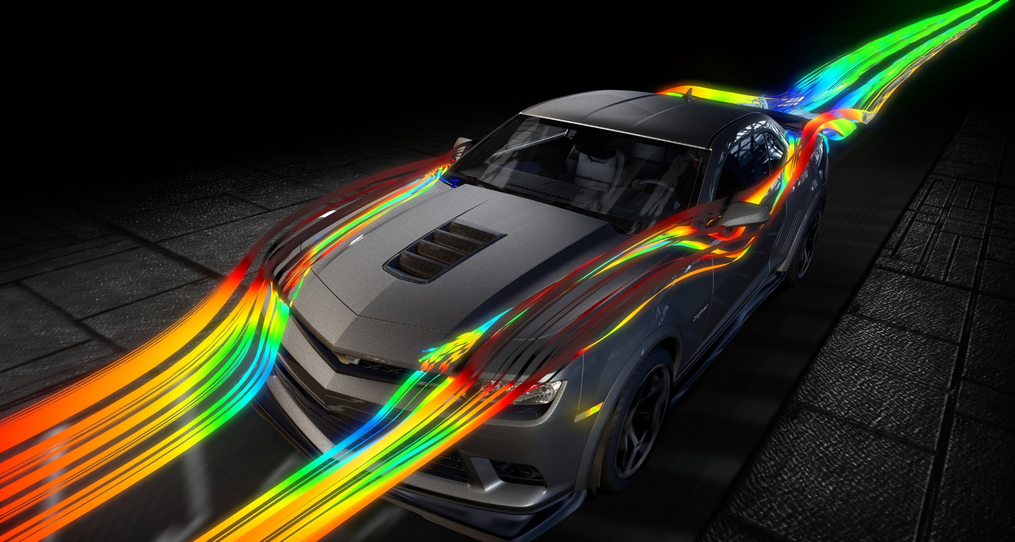 2014 Chevrolet Camaro Z/28 Aerodynamics Explained ...